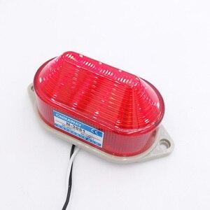 Image 4 - Anzeige licht N 3051 Strobe Signal Warnung licht Lampe kleine Blinklicht Sicherheit Alarm 12 V 24 V 220 V LED IP44