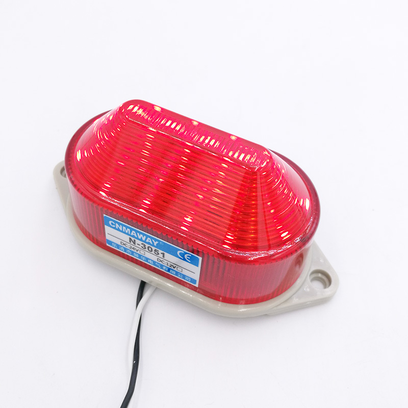 Image 4 - Indicator light N 3051 Strobe Signal Warning light Lamp small Flashing Light Security Alarm 12V 24V 220V LED IP44-in Indicator Lights from Lights & Lighting