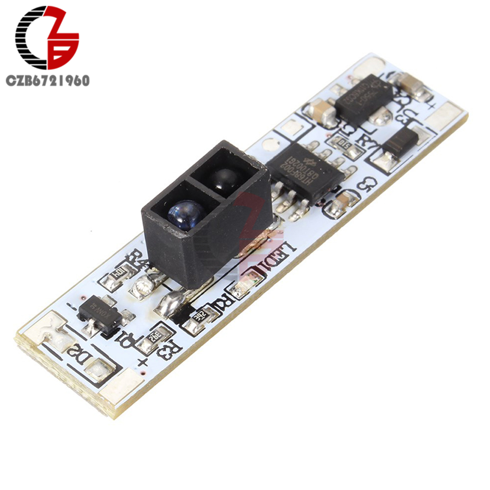 <font><b>XK</b></font>-<font><b>GK</b></font>-<font><b>4010A</b></font> DC 12V Short Distance Scan Sensor Sweep Hand Sensor Switch Module 36W 3A Constant Voltage for Auto Smart Home image