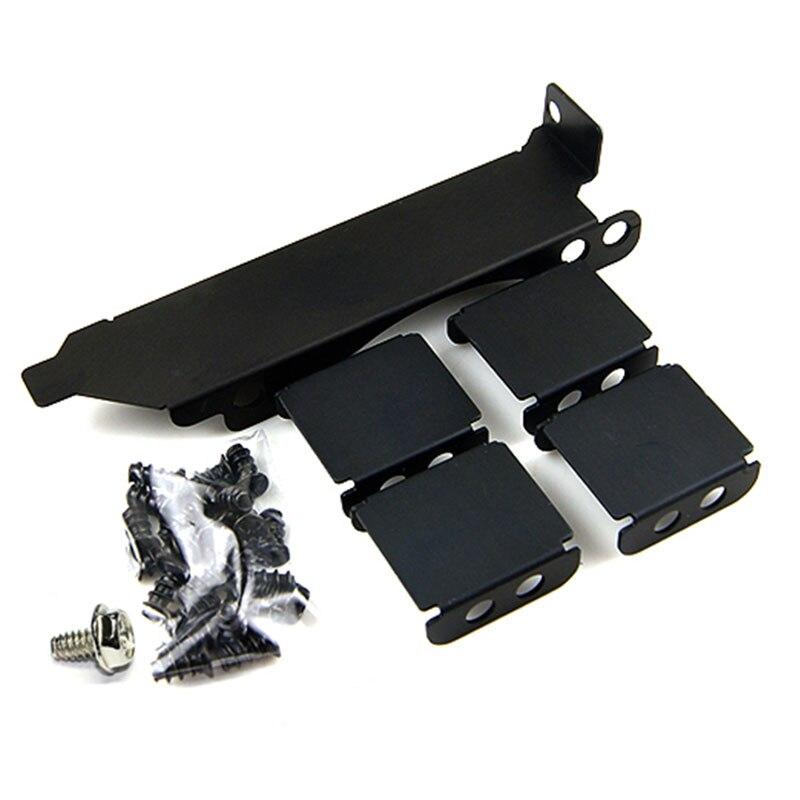 Main box bricolage Raphics carte 8 - 9 cm soutien trois support de ventilateur du radiateur ventilateur de refroidissement soutien efficace auxiliaire ventilateurs & refroidissement