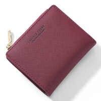 Weichen Frauen Brieftasche Kleine Zipper Weibliche Geldbörse Pu Leder Mini Damen Brieftasche Für Immer Junges Mädchen Brieftasche Karte Halter