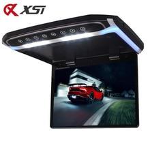XST 17.3 بوصة سقف السيارة جبل رصد الوجه أسفل TFT مشغّل LCD مع HD 1080P فيديو USB FM HDMI SD زر اللمس سقف MP5 لاعب