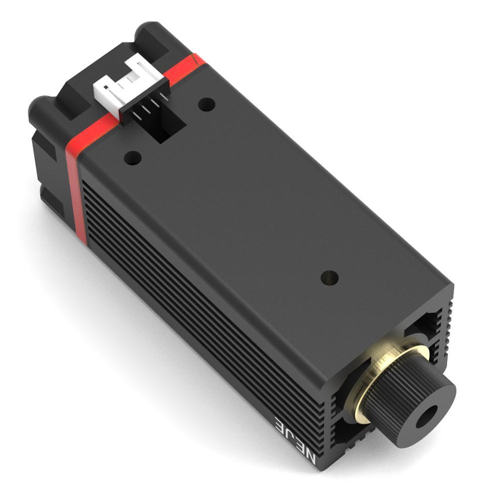Neje 7 w 12 v ttl/pwm módulo de tubo do laser óxido de alumina gravura do metal para a máquina de gravura do laser mestre de neje