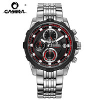 CASIMA Fashion Watches Men Casual Charm Luminous Sport Multi Function Quartz Watch Waterproof 100m 8306