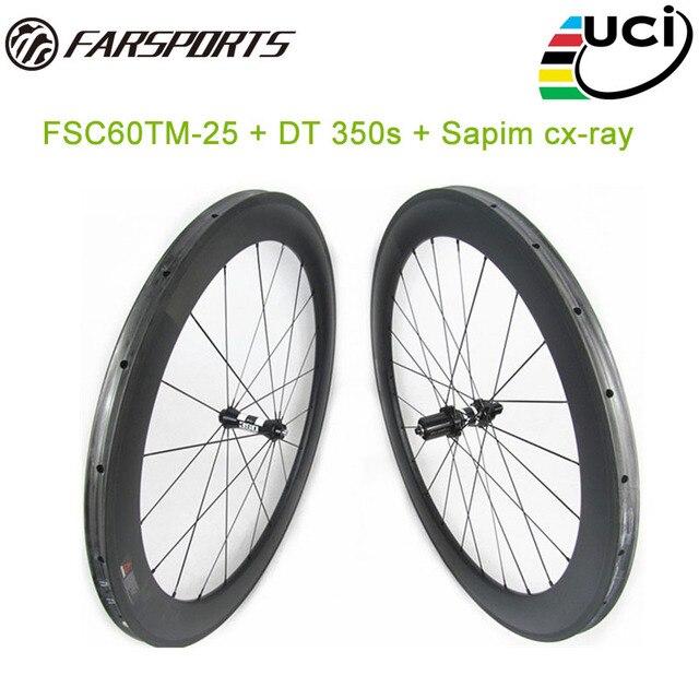 Chinesische 700C Basalt mit Hoher TG resin bremsbahn Benutzerdefinierte racing bike wheels tubular 60mm tiefe 25mm breite 1580 gr/satz