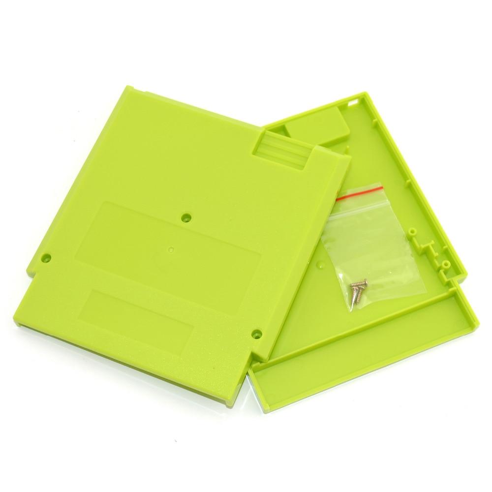 10 stk. Meget erstatning spilkort shell til NES 72 pin spilpatron shell plastik