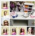 20 шт. очки / солнечные очки / ветер зеркало кукла аксессуары для Barbie кукла Kurhn кукла