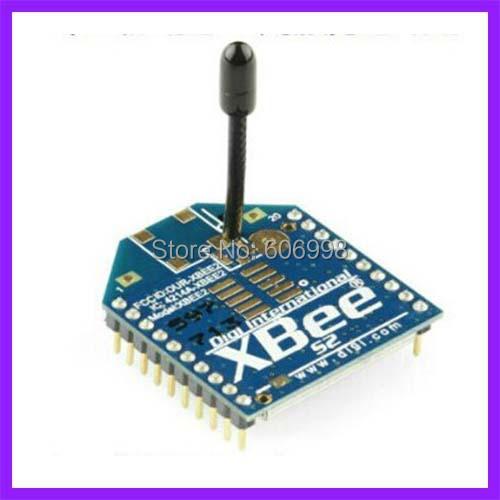 2 unids/lote Módulo de Transmisión de Datos Inalámbrica Zigbee XBee S2 2 mW 120 Metros Para Arduino