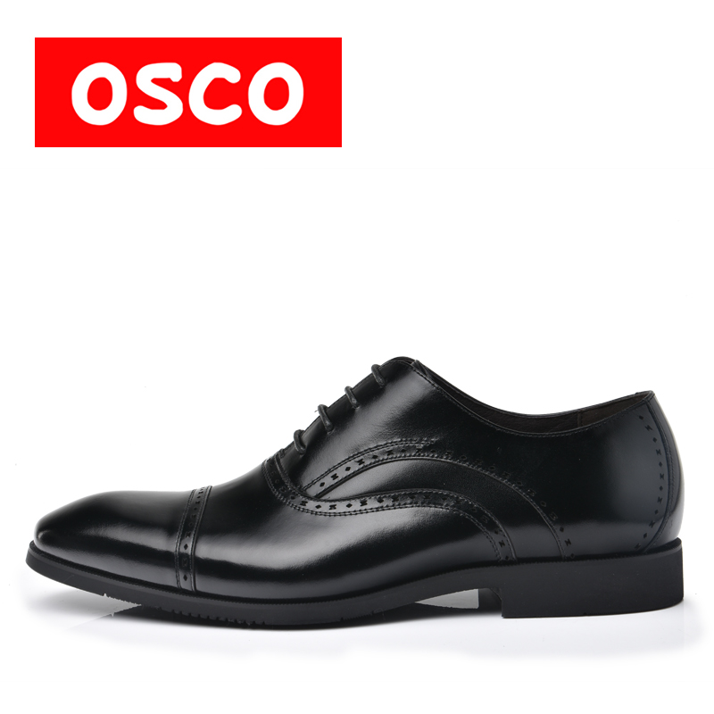 New Arrival Top Quality Business Casual Leather manShoes MenOxfords Classic Black Dress Wedding Shoes Brand
