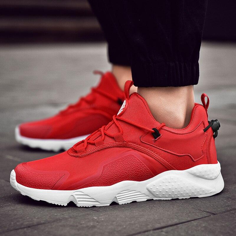 Горячая Распродажа 2018 г. новые трендовые кроссовки мужские кроссовки дышащие сетчатые обувь EVA женские спортивный бег обувь Большие размер