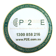 Discount promotion metal commemorative coin Enamel Painted round