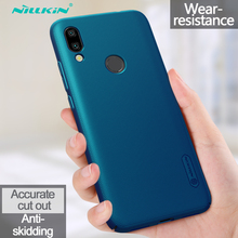 For Xiaomi Redmi 7 Case With Gift Holder NILLKIN Super Frosted Shield Plastic Hard Phone Cases Back Covers