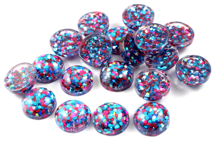 40pcs 12mm New Fashion Peacock blue and Pink and White Mix color Flat Back Resin Cabochons Cameo  G3-3140pcs 12mm New Fashion Peacock blue and Pink and White Mix color Flat Back Resin Cabochons Cameo  G3-31