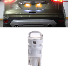 Car Styling 5 PCS DC 12V T10 1LED Bulbs  Lamp Map Backup Replacement Yellow