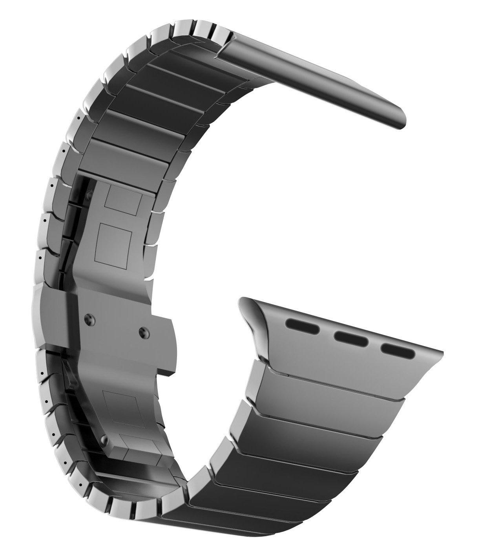 In Acciaio inox a farfalla Link banda per Apple Osservare 38mm 42mm 40mm 44mm Bracciale In Metallo Cinturino di Ricambio serie 4 3 2 1