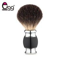 Luxury Badger Bristles Shaving Brush Men S Shaving Brush Barber Salon Facial Beard Cleaning Tool Acrylic