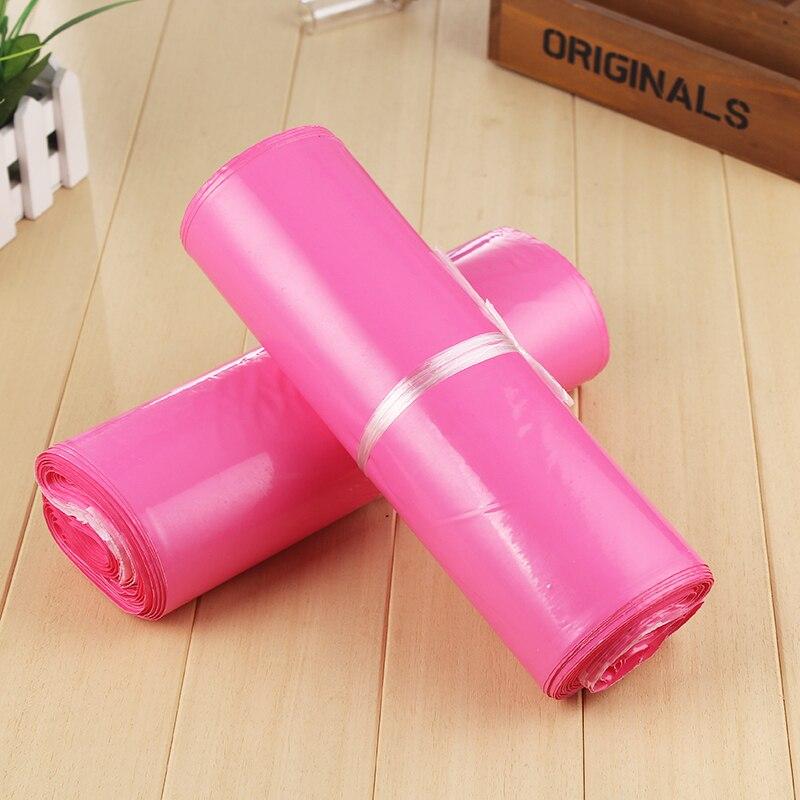 10 Teile/paket Bunte Wasserdichte Express Taschen Einweg Kurier Taschen Für Lieferung Mail Taschen Umschlag Taschen