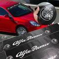 Etiqueta engomada del coche para ALFA ROMEO Giulia Mito 4C 147 156 159 166 Giulietta Araña GT coche etiqueta de la ventana