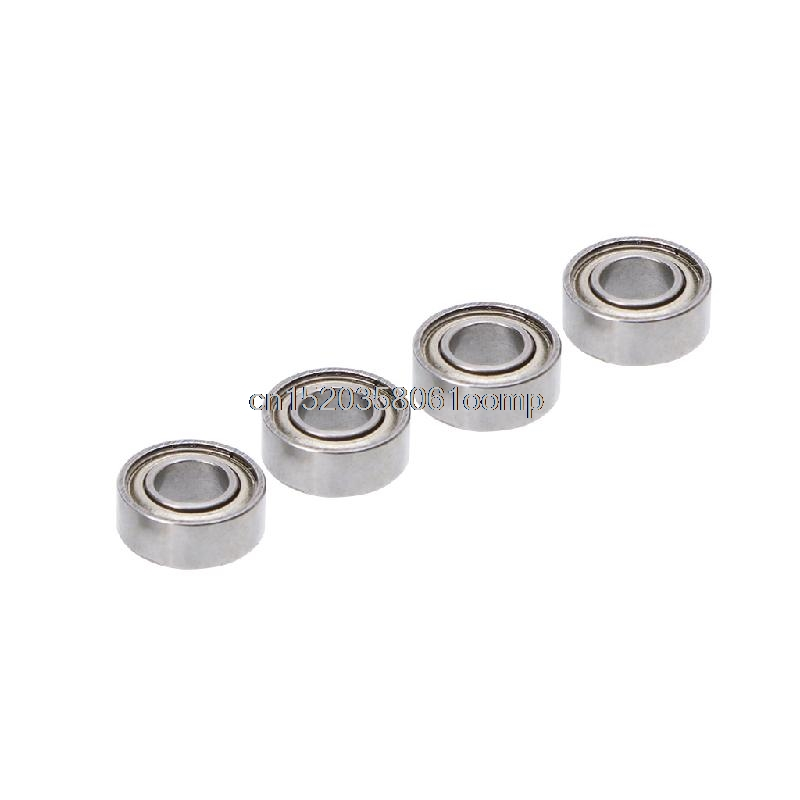 4Pcs/Set Steel 8*4*3 Ball Bearings Metal Upgrade Parts For WLtoys 1/18 RC Car A959 A949 A969 A979 K929 A959-b wltoys 1 18 upgrade parts aluminum shock absorber for wltoys rc car a949 a959 a969 a979 k929 replacement accessories a949 55