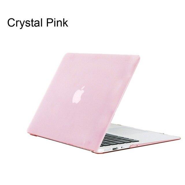 la meilleure attitude aa047 493d6 € 9.52 20% de réduction|Boîtier en cristal pour Apple MacBook Air Pro  Retina 11 12 13 15 pochette d'ordinateur pour coque MacBook Pro 13 15  Pouces ...
