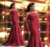 Robe De Soirée Atractivo Romántico de Encaje Rojo Oscuro Sirena Mangas Largas Vestidos De Noche Formales Vestidos de La Celebridad 2016