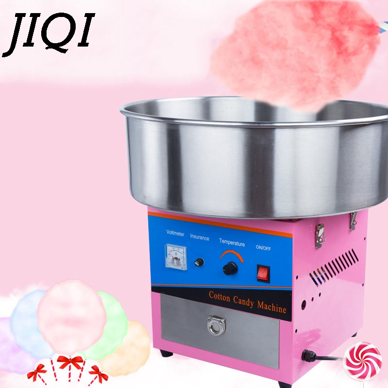 110V/220V Commercial Sweet Cotton Candy Maker Electric Automatic Marshmallow Flower Fancy Candyfloss Sugar Floss Machine US EU
