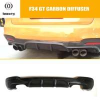 F34 GT Carbon Fiber Rear Bumper Diffuser for BMW F34 320i GT 328i GT 335i GT with M Package 2012 - 2016