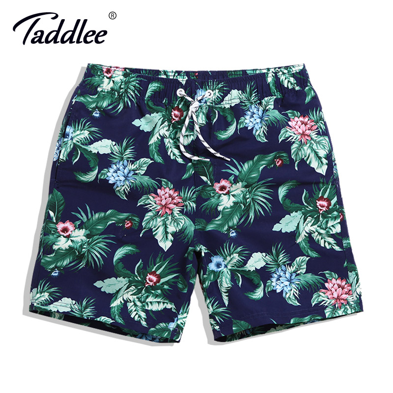 Taddlee Brand Men's Beach   Board     Shorts   Surf Swim Boxer Trunks Swimwear Plus Size Quick Drying Bermuda Sport Running   Short   Bottom