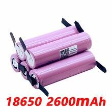 Nouvelle batterie rechargeable LiitoKala 18650 2600 mah ICR18650-26FM Li-ion 3.7 V