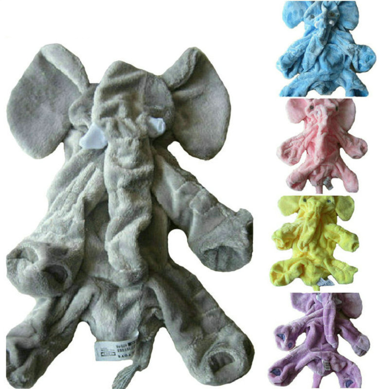 60 Cm Gray Giant  Elephant Plush Toy Skin  Soft Toy Skin   Baby Kids  Baby Pillows Without Stuffed