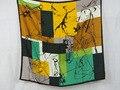 [25% OFF] 204062 Элегантный Чистого шелка wrap женская большой Площади Шелковый Шарф, 100% Шелк площади шелковые шарфы высокое качество