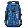 Rye time Children quality casual school bag 10 double-shoulder 11 spinal care slimming large capacity backpack boys bag