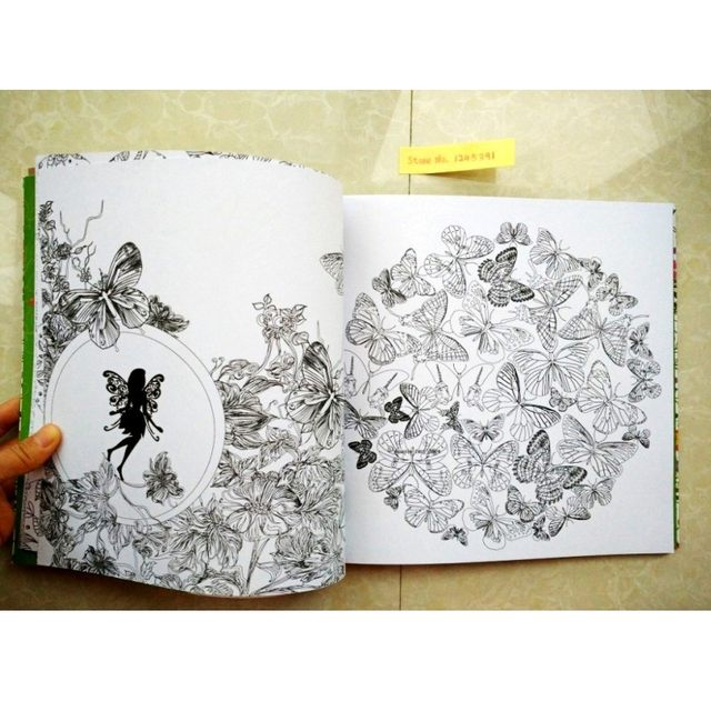 Online Shop 96 Pages Elves Friendly Forest Coloring Books For ...