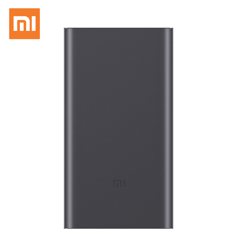 10000mAh Xiaomi Mi Power Bank 2 Quick Charge 18W External Battery Bank Mi Portable Charger For