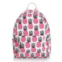 2016 новый Японский и Корейский стиль холщовый мешок мешок ананас девушка сумка женщины рюкзак студентка мешок(China (Mainland))