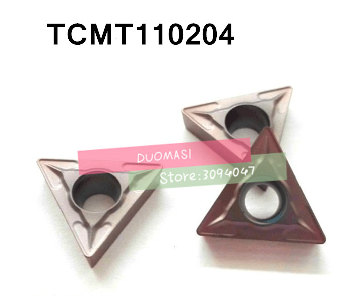 Free Shipping TCMT110204 Carbide CNC Inserts,CNC Lathe Tool,apply To Stainless Steel And Steel Processing, Insert STGCR/STWCR