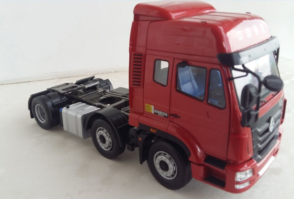 Exquisite Alloy Model Gift 1:32 SinoTruk HOHAN 6*2 Truck Tractor Trailer Vehicles DieCast Toy Model for Collection DecorationExquisite Alloy Model Gift 1:32 SinoTruk HOHAN 6*2 Truck Tractor Trailer Vehicles DieCast Toy Model for Collection Decoration