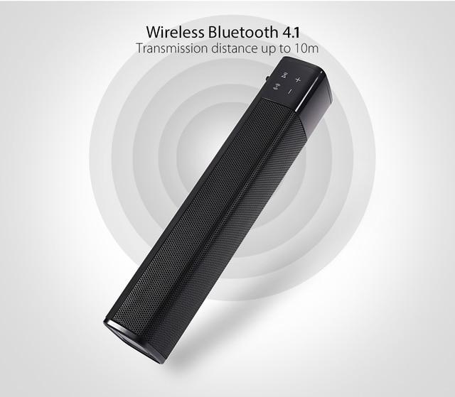 JKR KR-1000 Wireless Bluetooth Speaker Super Bass Stereo Loudspeaker Volume Control for iPhone / Samsung Upgrade of SL - 1000S