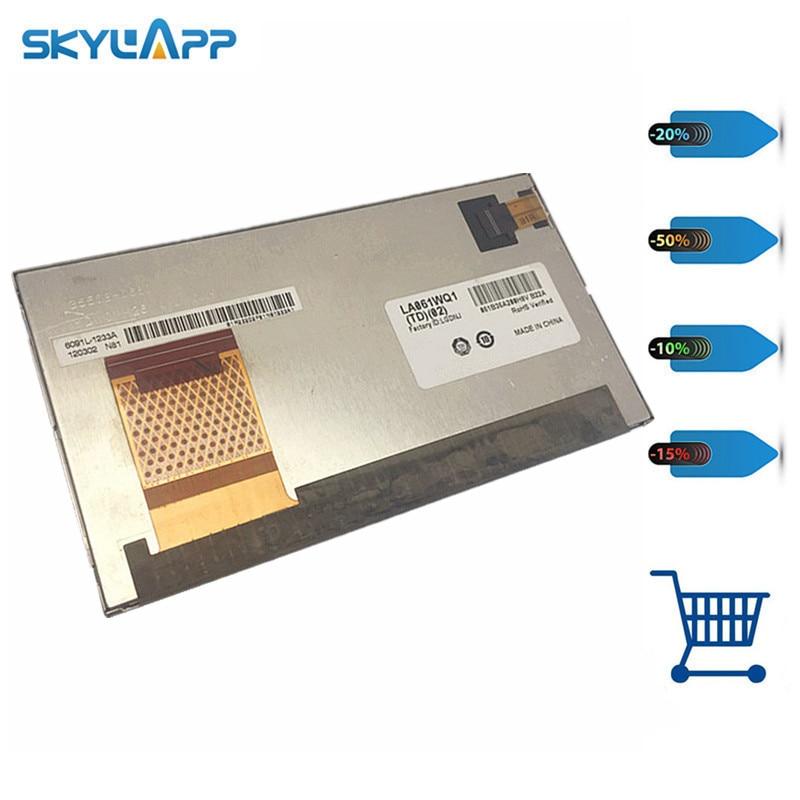 Skylarpu 6.1 inch LCD for LA061WQ1(TD)(02) LA061WQ1-TD05 LA061WQ1-TD02 Display Screen panel (without touch) Free shipping for lg display 6 1 inch la061wq1 td05 replacement lcd screen display panel replacement digitizer monitor