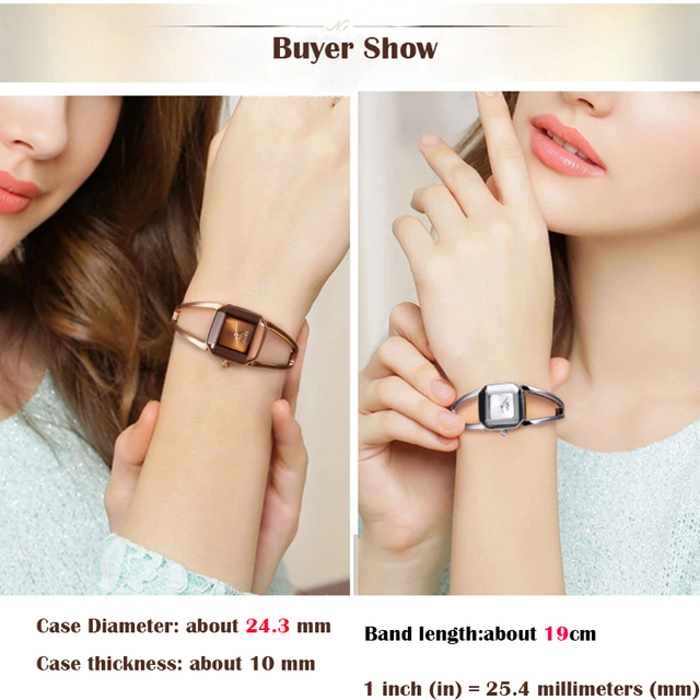 Luxury KIMIO Women's Bracelet Watches Simple Stainless Steel Ladies Watches Waterproof Dress Watch montre femme reloj mujer 2016