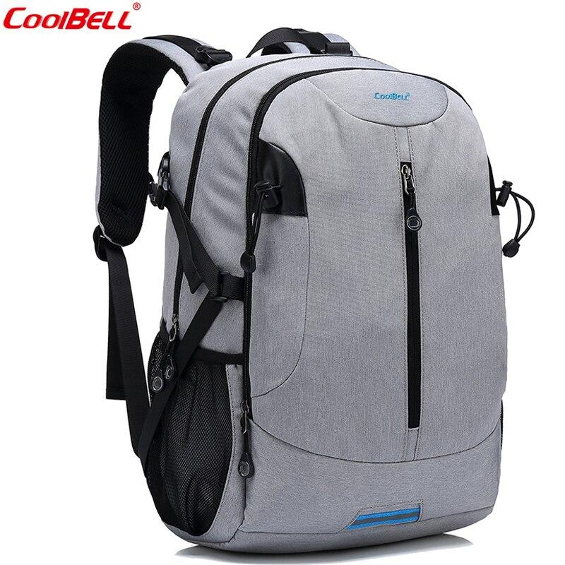 CoolBell Brand Multi-functional Backpack For Women Travel Rucksack Knapsack Men Lightweight School Backpack Casual Day pack