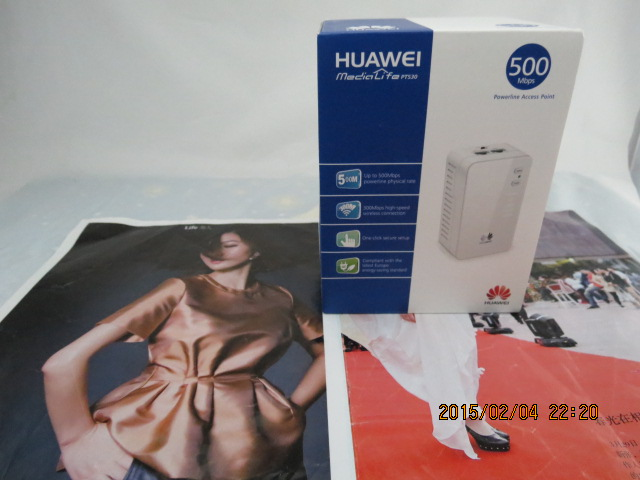 ФОТО Huawei PT530 HomePlug AV 500Mbps High-speed wireless connection 300Mbps 2 ports