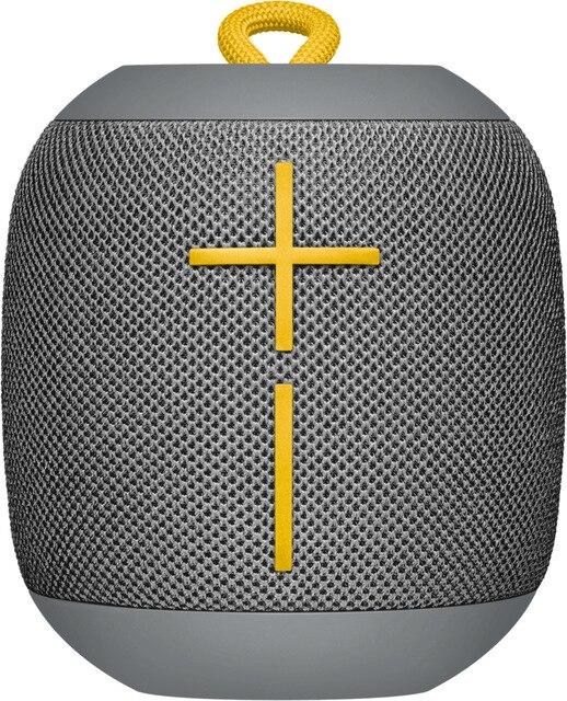 Logitech Ultimate Ears WONDERBOOM haut-parleur, 2.0 canaux, sans fil, Mono haut-parleur portable, gris/bleu/noir/rose, cylindre, numérique