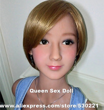 WMDOLL Top quality asian sex doll head for full silicone doll, real sex toy doll, oral sex products for men