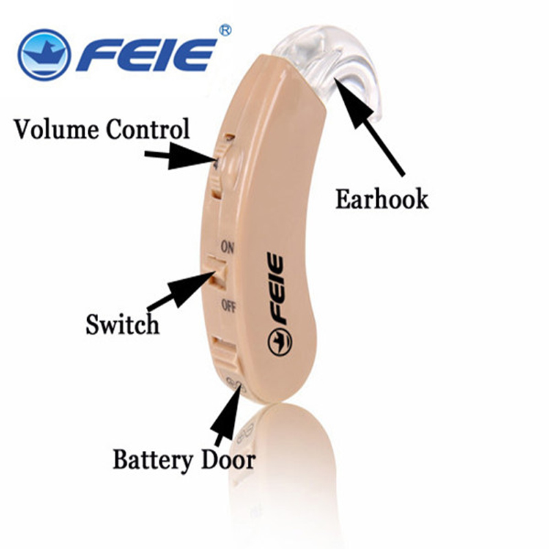 Elderly HEARING AID High Powerful Frequency Volulme Adjustable Parents gift S-9C Free Drop Shipping Hearing Aids hot selling comfy good quality hearing aid review high end digital hearing aids prices free shipping s 12a