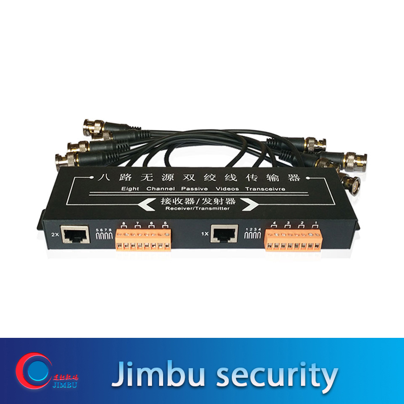 Jimbu Simulation Of AHD CVI Camera For Eight Channel Integrated Passive Twisted Pair Transmitter With Line