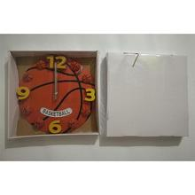 Basketball Shaped Silent No-ticking Wall Clock for any Room Decoration