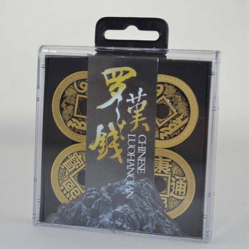 Chinese LuohanQian (Morgan Version Coin Size 38mm) Deluxe Coin Sets Magic Tricks Close Up Gimmick Prop Appear/Vanish Coin Magie цена