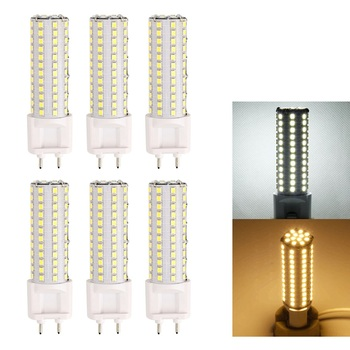 [6/Pack] G12 LED Corn Light 12W AC85-265V Led Lamp Warm White/Cold White High-brightness Lighting indoor Light Bulb