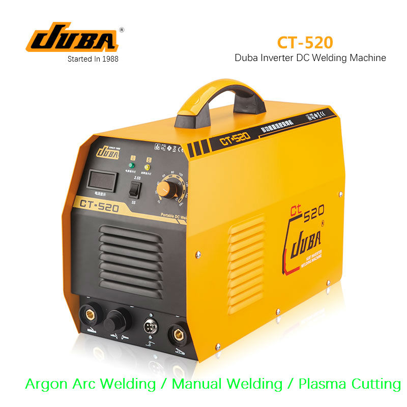 Top Selling 3 In 1 CT520 CT 520 TIG MMA Plasma Cutting Cutter Inverter DC welder welding machine with free accessories-in Arc Welders from Tools    1